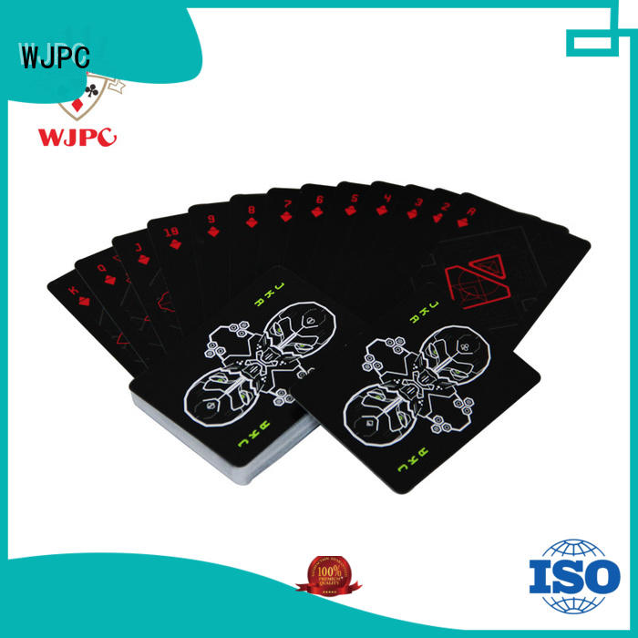 WJPC easy to operate cardistry card decks design for board game