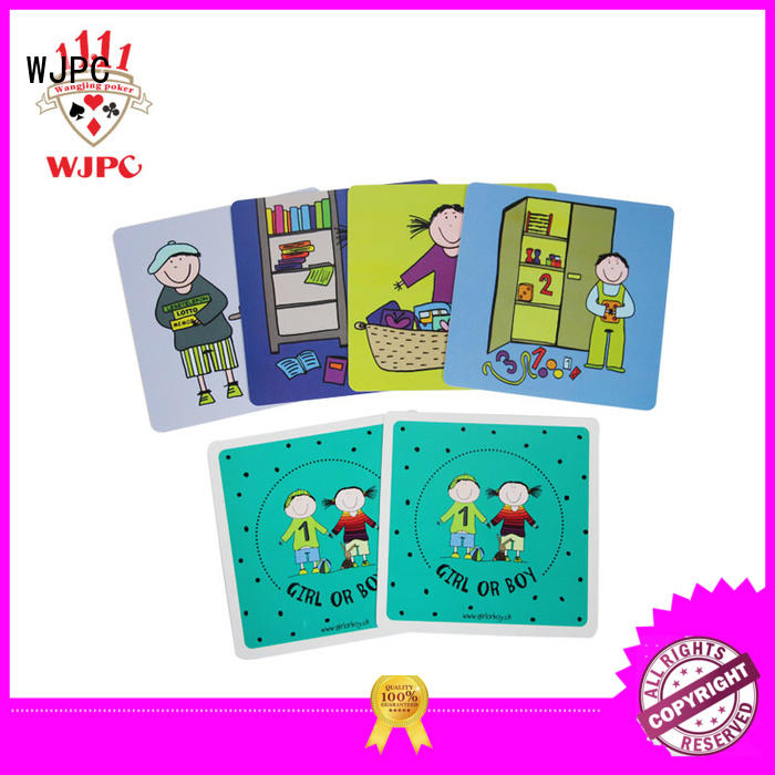 WJPC High-quality baby learning flash cards Supply for early learning centre