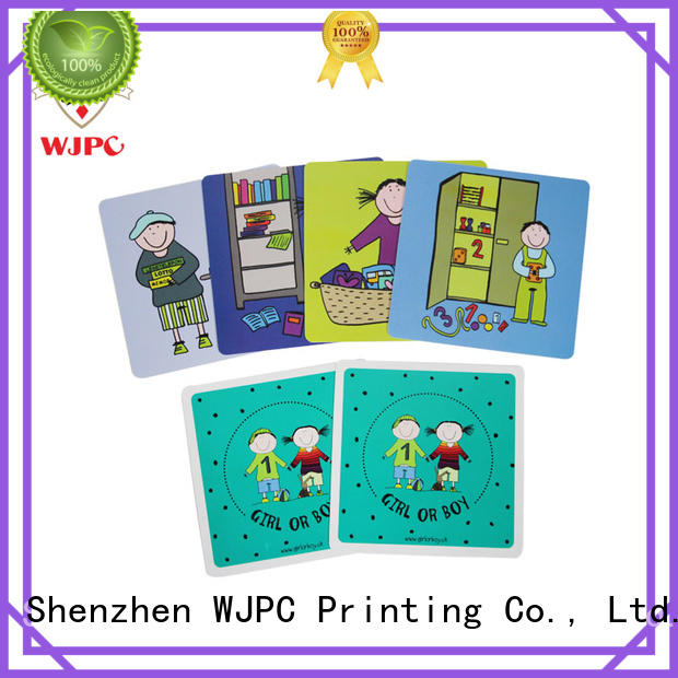 WJPC flash learning cards Supply for children