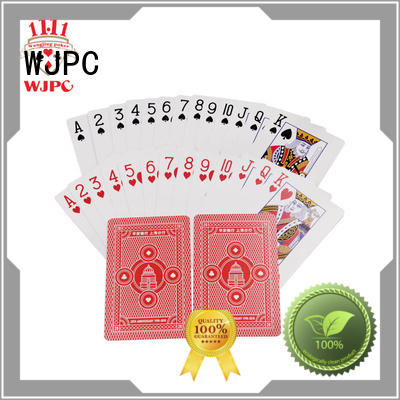 promotional poker cards printed for children WJPC