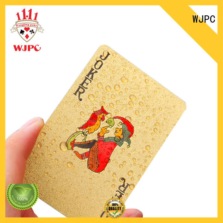 full poker cards game WJPC company