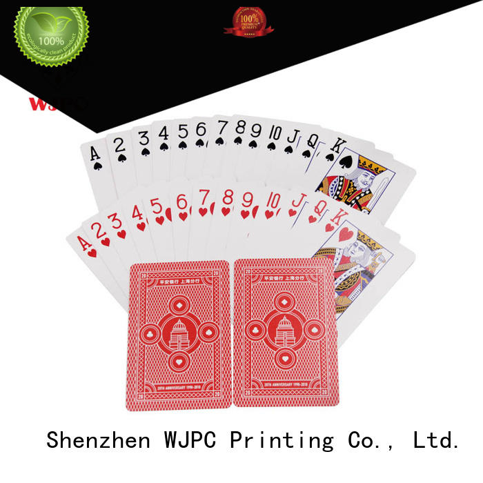 funny promotional playing card customized vendor for game