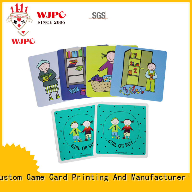 WJPC flash best flash cards for kids for business for early learning centre