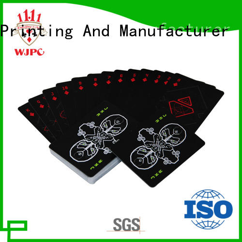 design cardistry playing cards manufacturing for kindergarten WJPC