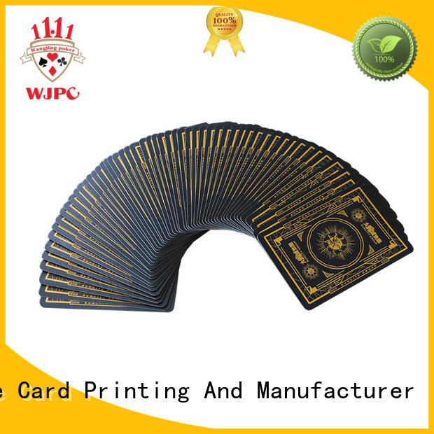 WJPC core design own playing cards manufacturers for game