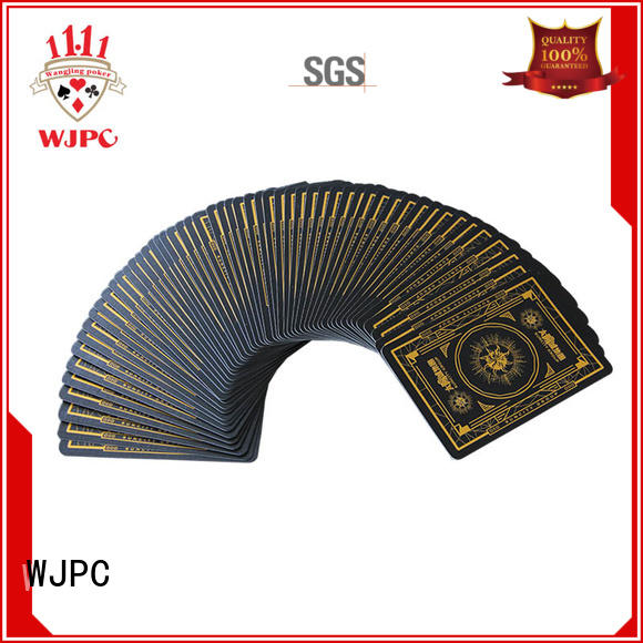 WJPC good looking print playing cards online Supply for game