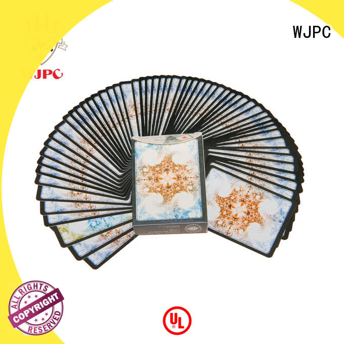 WJPC printing magic playing cards company for board game