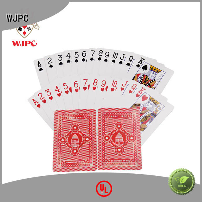 WJPC good-looking quality deck of cards Suppliers for kindergarten