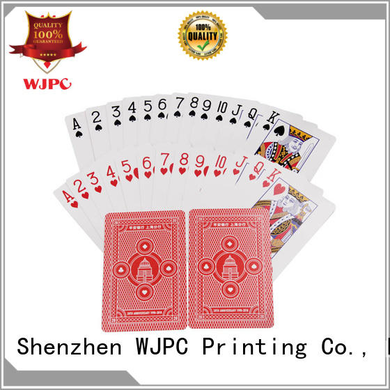 WJPC cards bicycle cards material Supply for board game