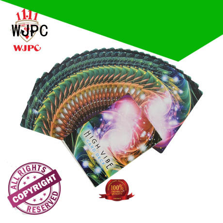 WJPC customized oracle card company for party