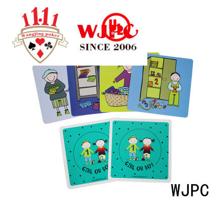 WJPC cards educational flash cards Supply for children