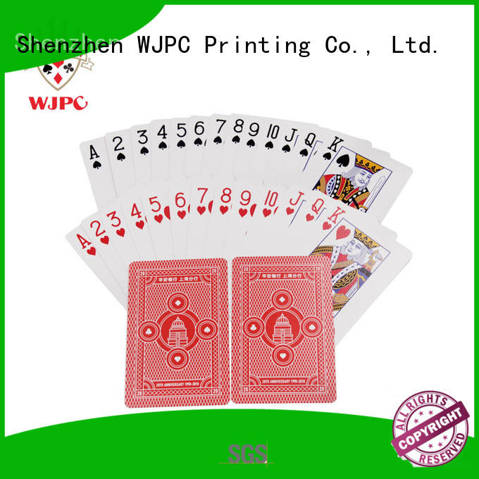 WJPC good-looking poker cards for sale printed for party