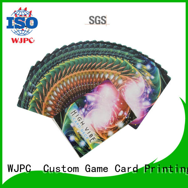 WJPC hot sale oracle cards deck company for game