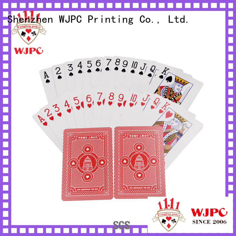 fashion custom poker cards customized supply for game