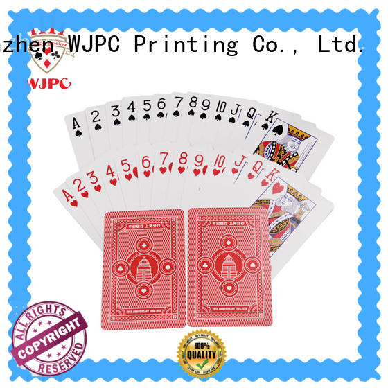 funny promotional playing card customized manufacturers for bar