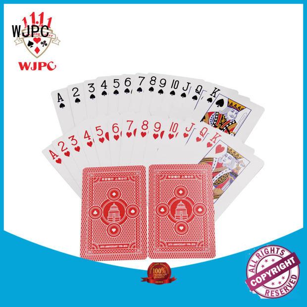 WJPC popular promotional deck of cards promotional for children