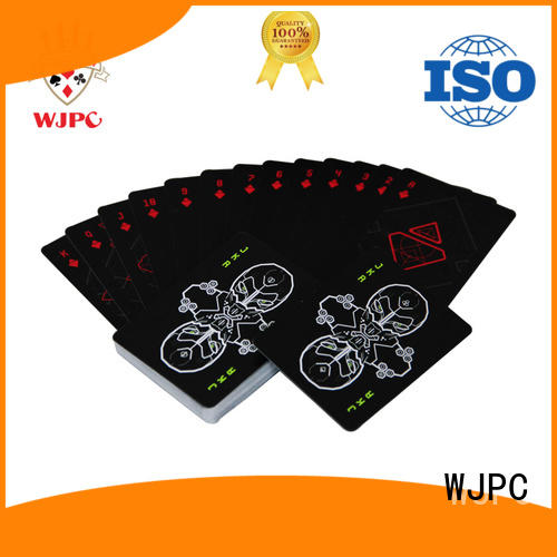 customized cardistry card decks for board game WJPC