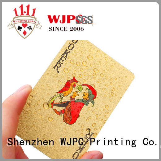 WJPC High-quality bicycle cards cost bulk produtcion for board game