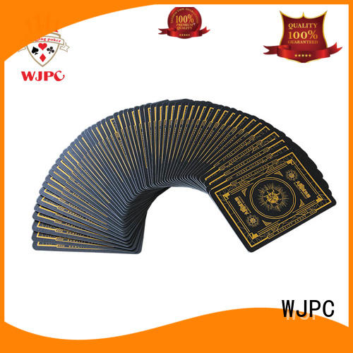 WJPC black professional poker cards grab now for game
