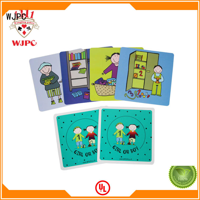 interesting leisure baby learning flash cards quality WJPC company