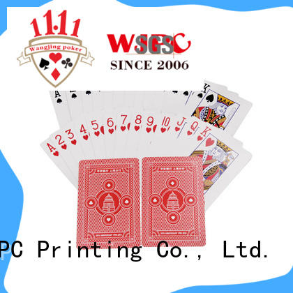 WJPC funny poker card promotional for game