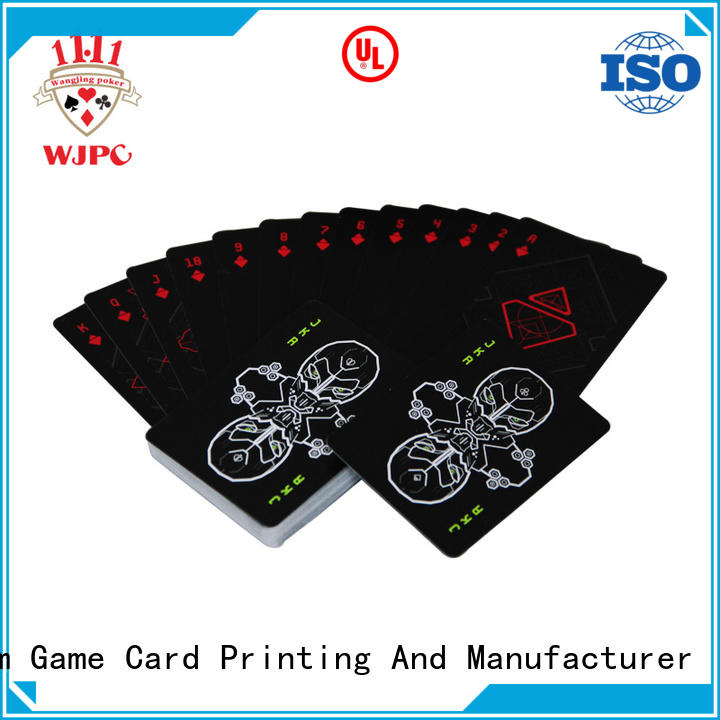 WJPC Wholesale casino poker cards for sale manufacturers for board game