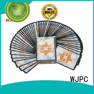 WJPC poker cards bulk produtcion for kindergarten
