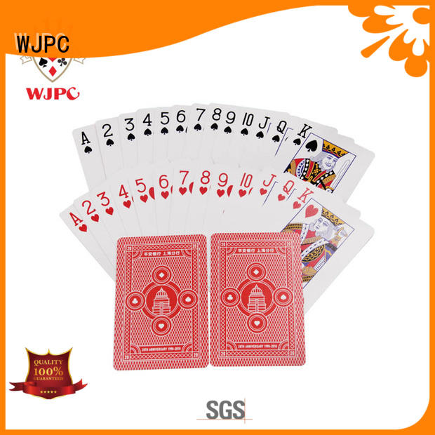 hot sale playing cards custom printing with many colors for casino