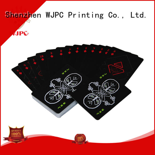 high-quality bicycle plastic poker cards customized factory for party