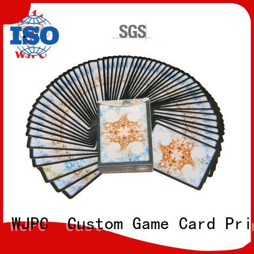 Custom magic poker cards magic for party