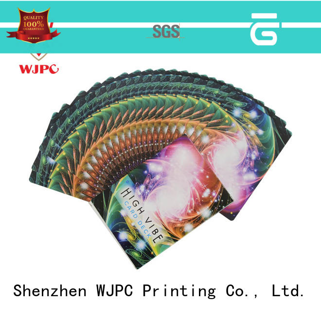 WJPC high grade oracle cards for children