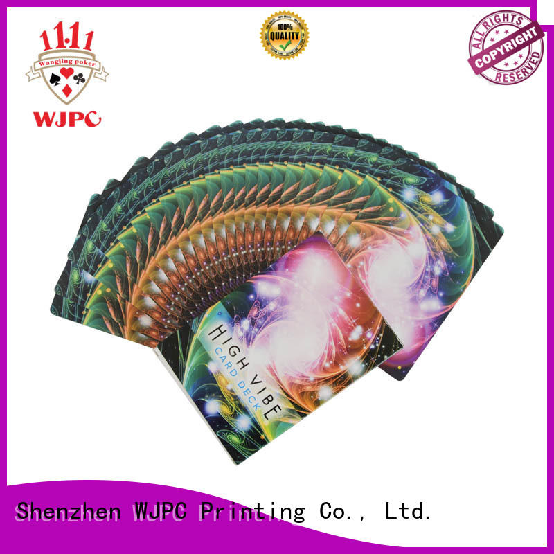 waterproof angel card reading spreads cards factory for casino