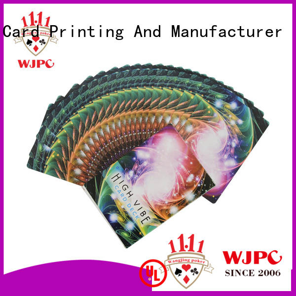 customized oracle quality oracle cards printing WJPC