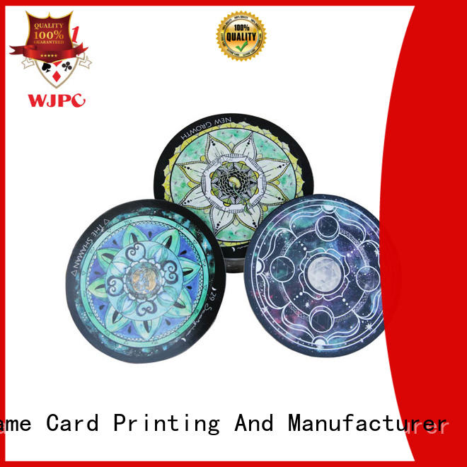 deck tarot card set in different color for game WJPC