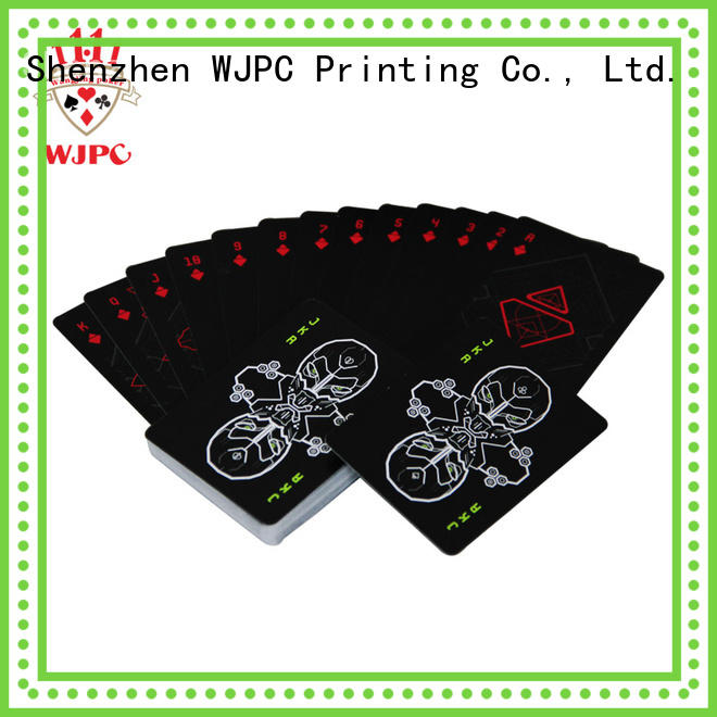 WJPC customized playing cards for sale online for business for board game