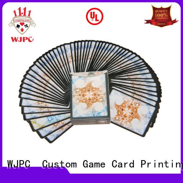 Custom gemaco plastic playing cards magic Suppliers for board game