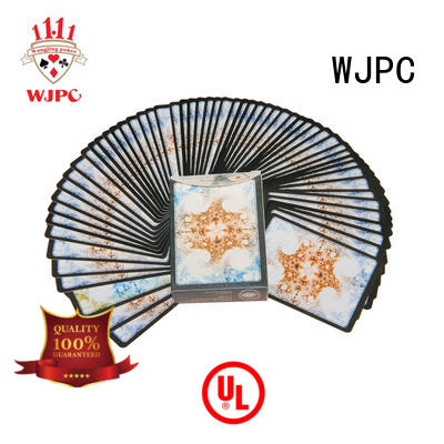 WJPC high reputation quality playing cards for game