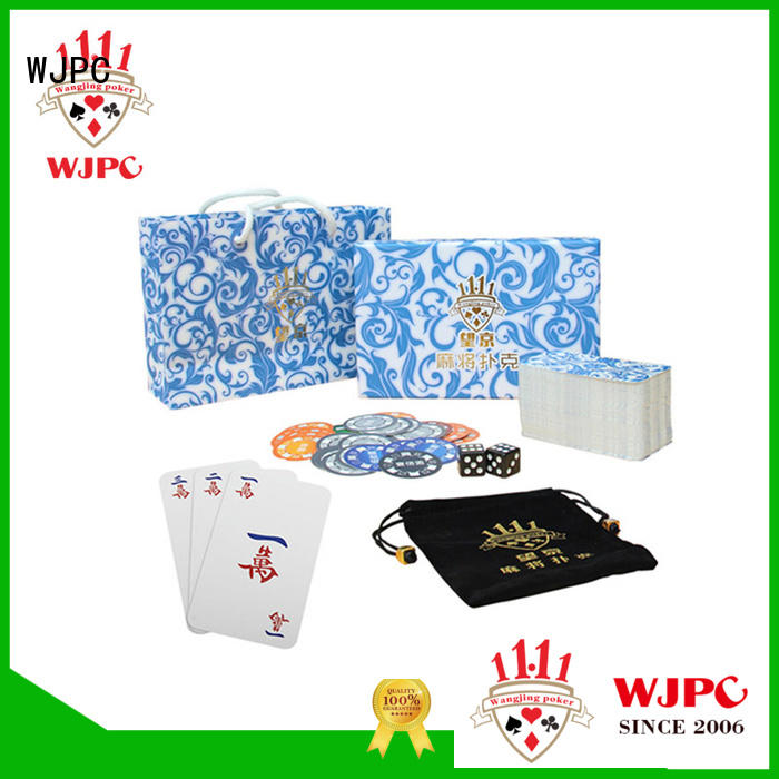 leisure Custom paper black custom game card WJPC coated