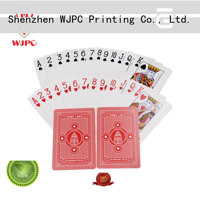 Logo Printed Customized Promotional Playing Cards