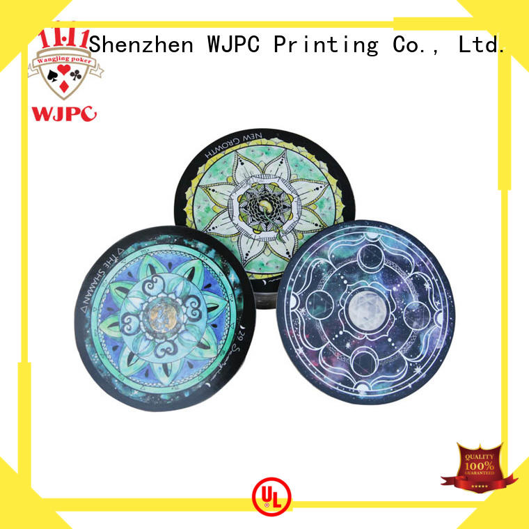 soft-touch custom tarot cards printing get now for divination WJPC