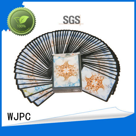 WJPC playing magic playing cards environmentally friendly for casino