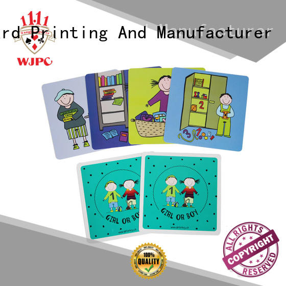 WJPC good-looking learning card for sale for children