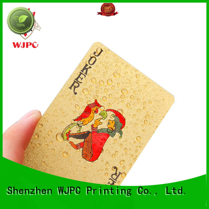 full custom playing cards playing for board game WJPC