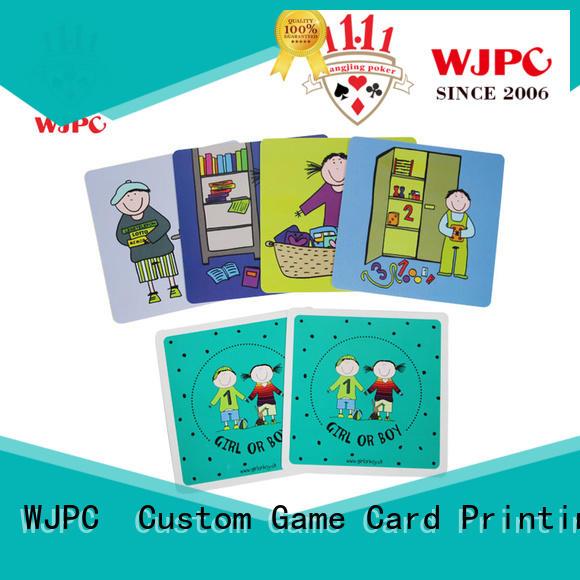 WJPC educational story flashcards for preschoolers manufacturers for kindergarten