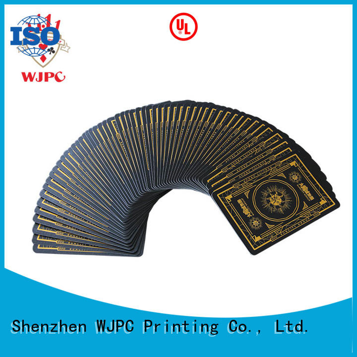WJPC german customize your own playing cards factory for game