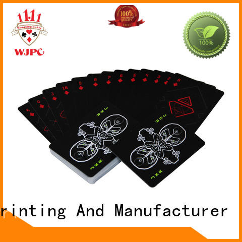 WJPC Custom personalized plastic poker chips factory for party