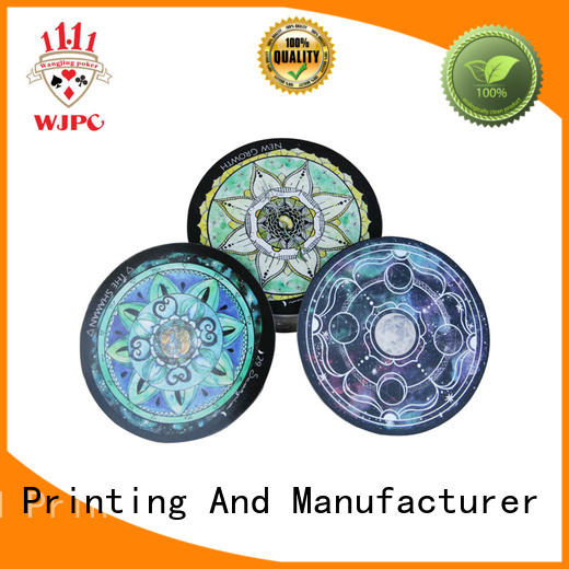 WJPC Best tarot cards custom factory for game