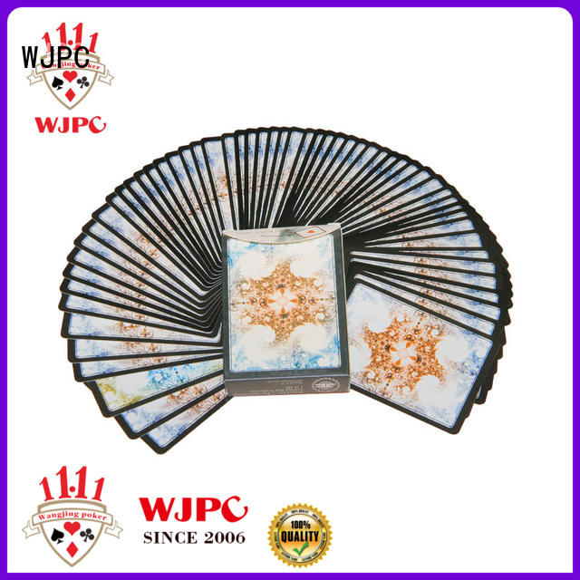 WJPC printing magic playing cards for sale overseas market for party