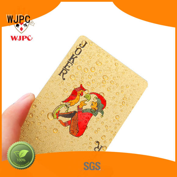 good looking official poker cards waterproof factory for party