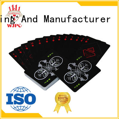 WJPC durable cardistry cards wholesale for board game